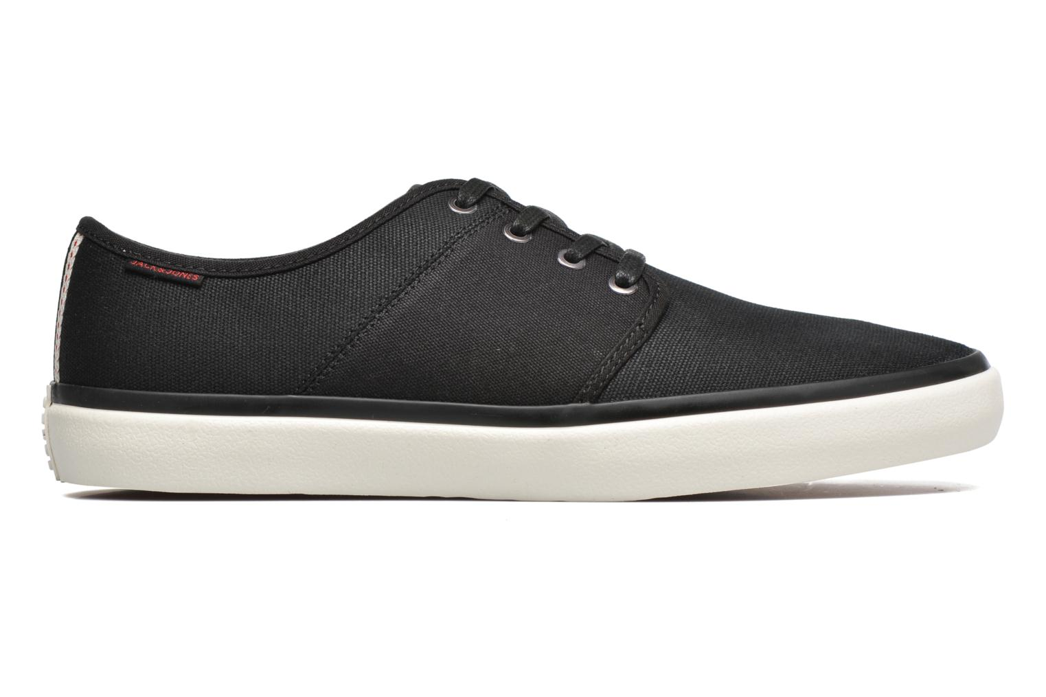 Trainers Jack & Jones JJ Turbo Waxed Canvas Black back view