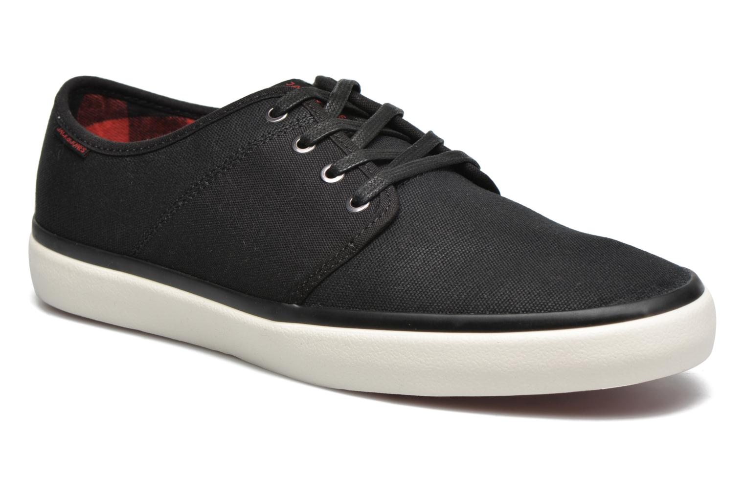 Trainers Jack & Jones JJ Turbo Waxed Canvas Black detailed view/ Pair view