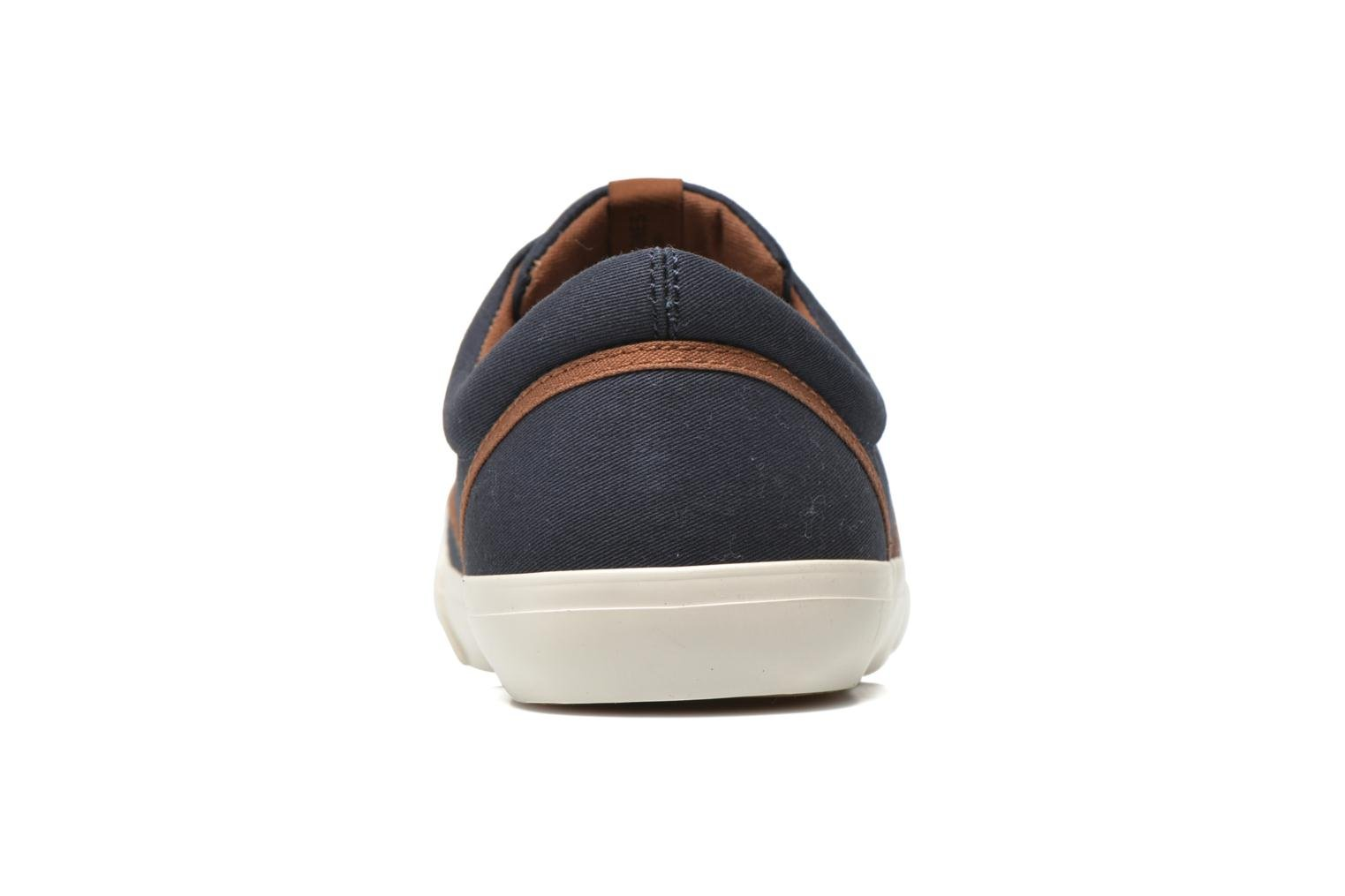 Trainers Jack & Jones JJ Kos Blue view from the right