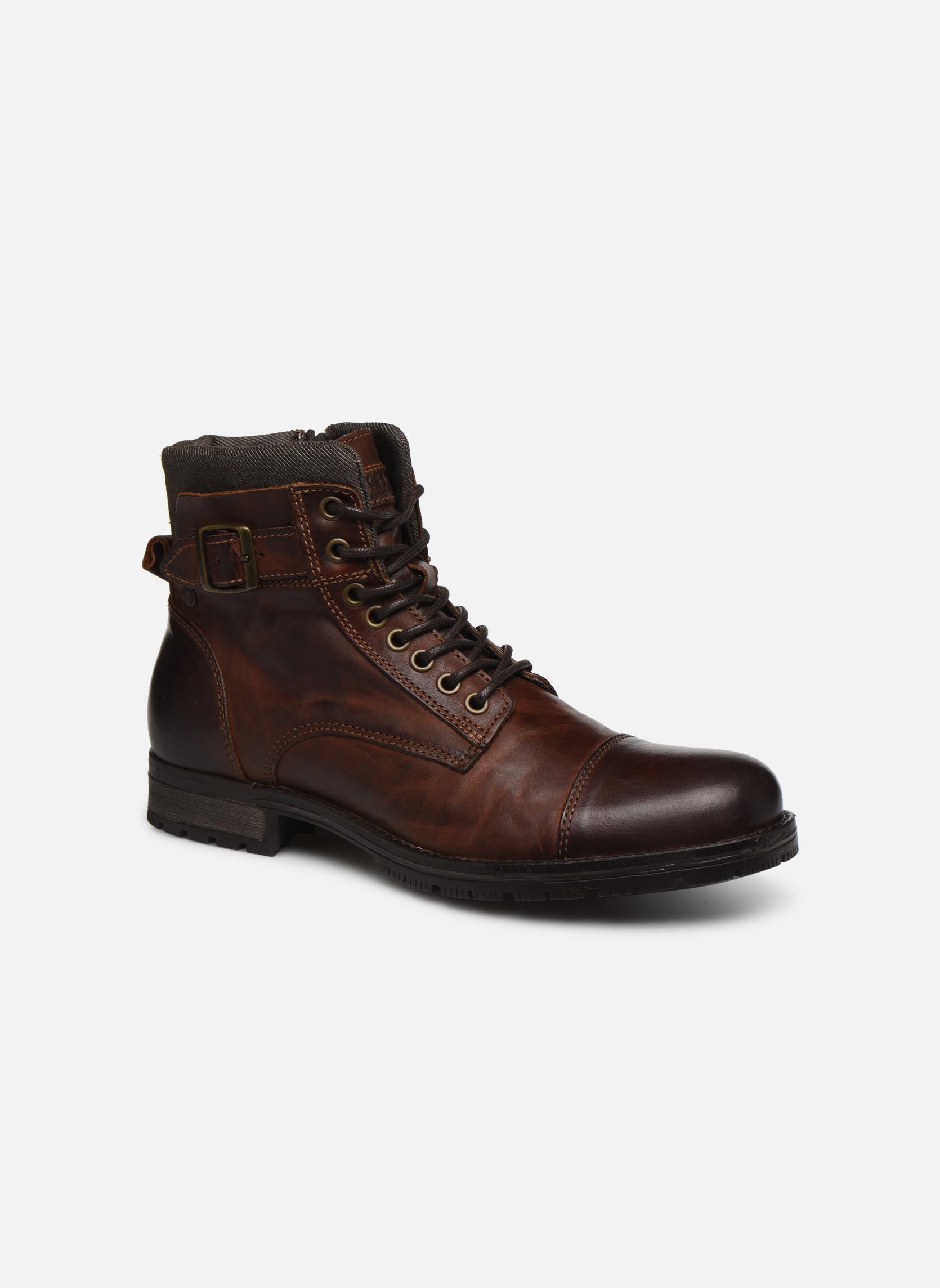 Jack & Jones JJ Albany (Marron) - Bottines et boots chez Sarenza (269168)
