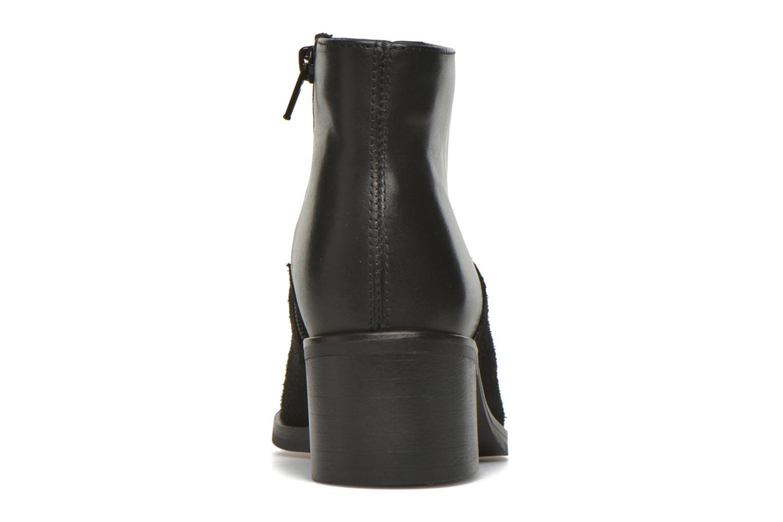 Bottines et boots Pieces Dabai Leather Boot Noir vue droite