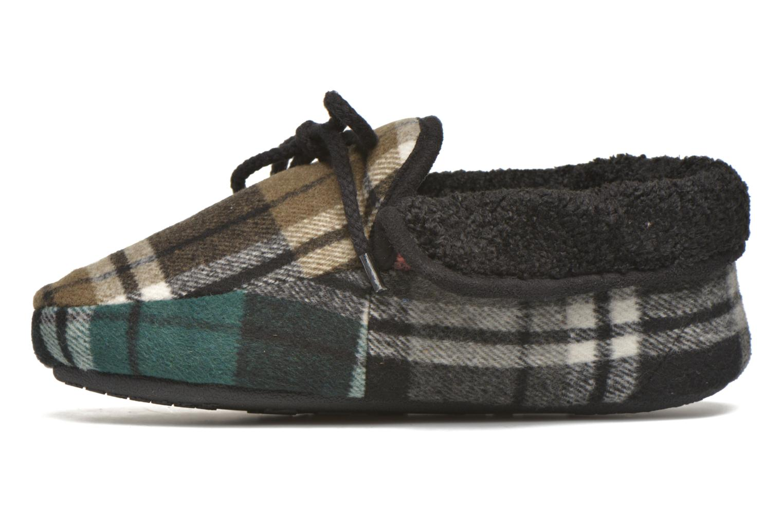 Chaussons Ruby Brown Sian Noir vue face