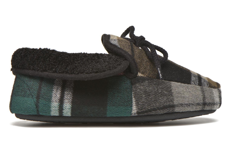 Pantofole Ruby Brown Sian Nero immagine posteriore