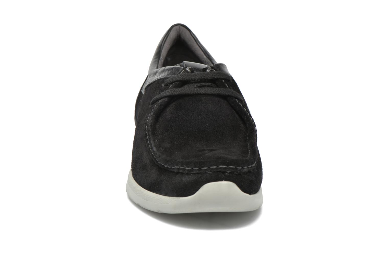 Schnürschuhe Sioux Aiello schwarz schuhe getragen