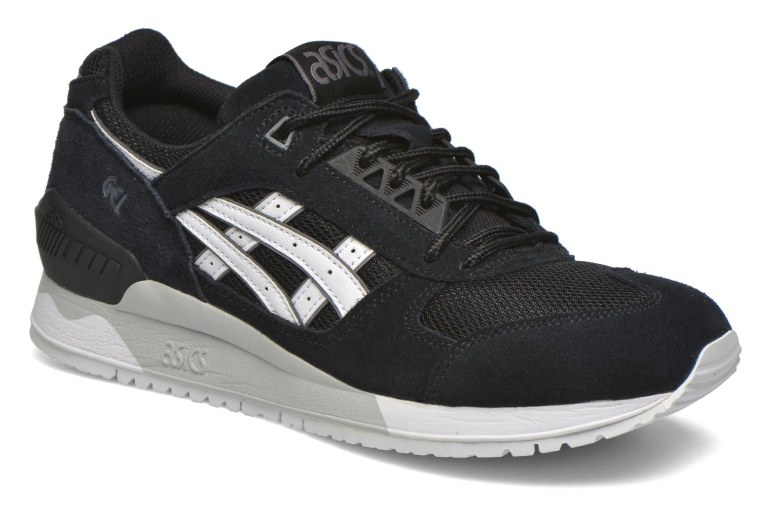 Trainers Asics Gel-Respector Black detailed view/ Pair view