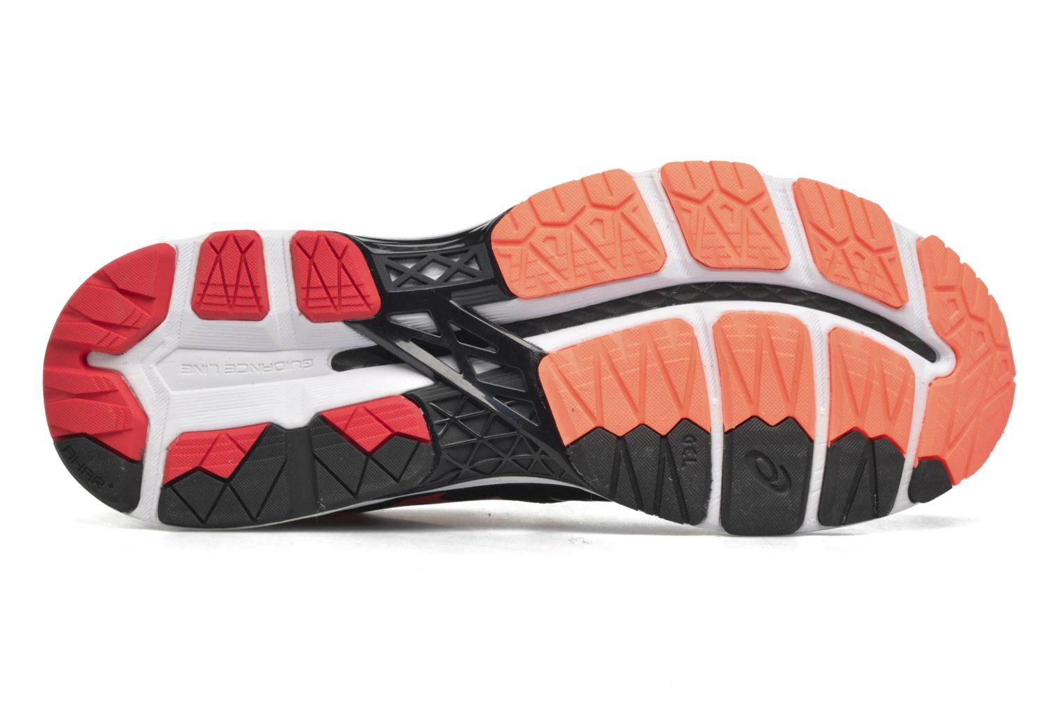 Sport shoes Asics Gel-Kayano 23 Black view from above