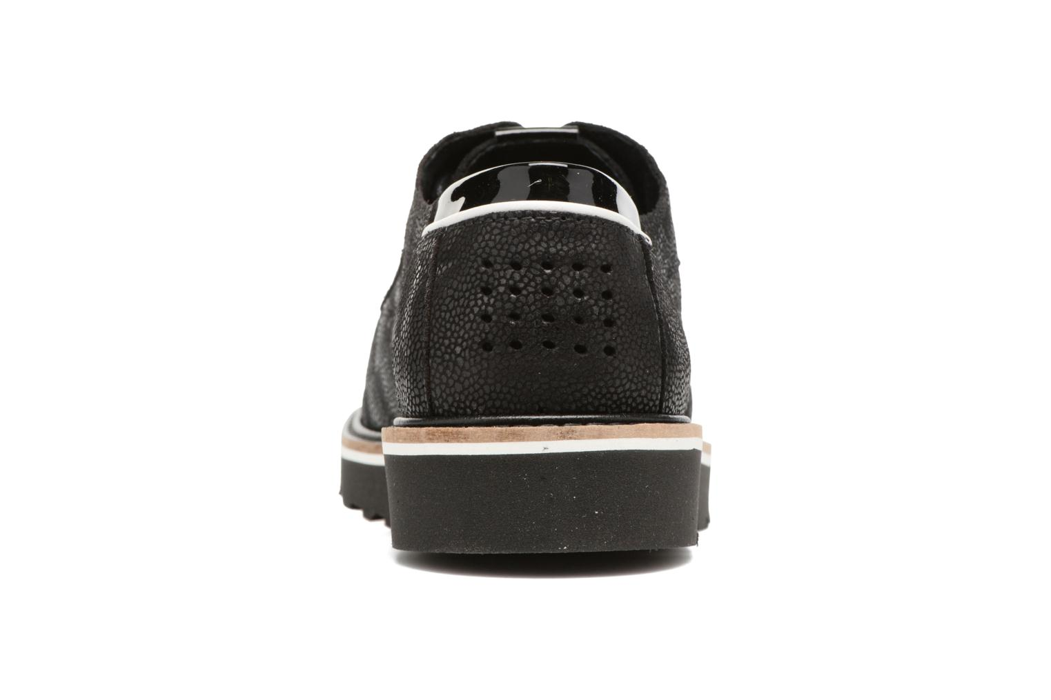 Lace-up shoes TBS Typhany Black view from the right