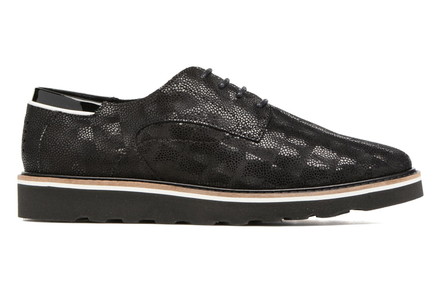 Lace-up shoes TBS Typhany Black back view