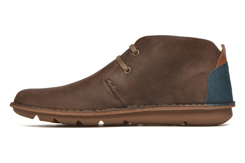 Chaussures à lacets TBS Ystoryh Marron vue face