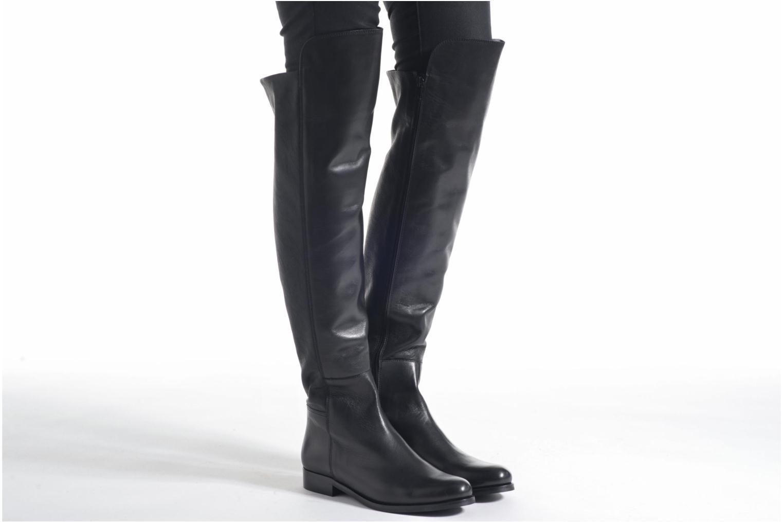 Stiefel PintoDiBlu Barbara schwarz ansicht von unten / tasche getragen