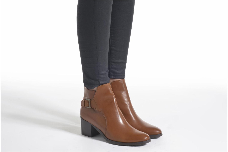 Bottines et boots PintoDiBlu Bruna Marron vue bas / vue portée sac