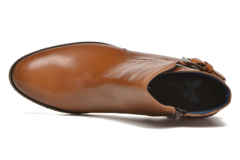 Bottines et boots PintoDiBlu Bruna Marron vue gauche