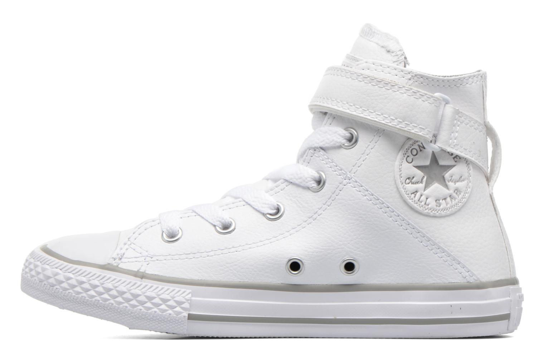 Sneaker Converse Chuck Taylor All Star Brea Hi weiß ansicht von vorne