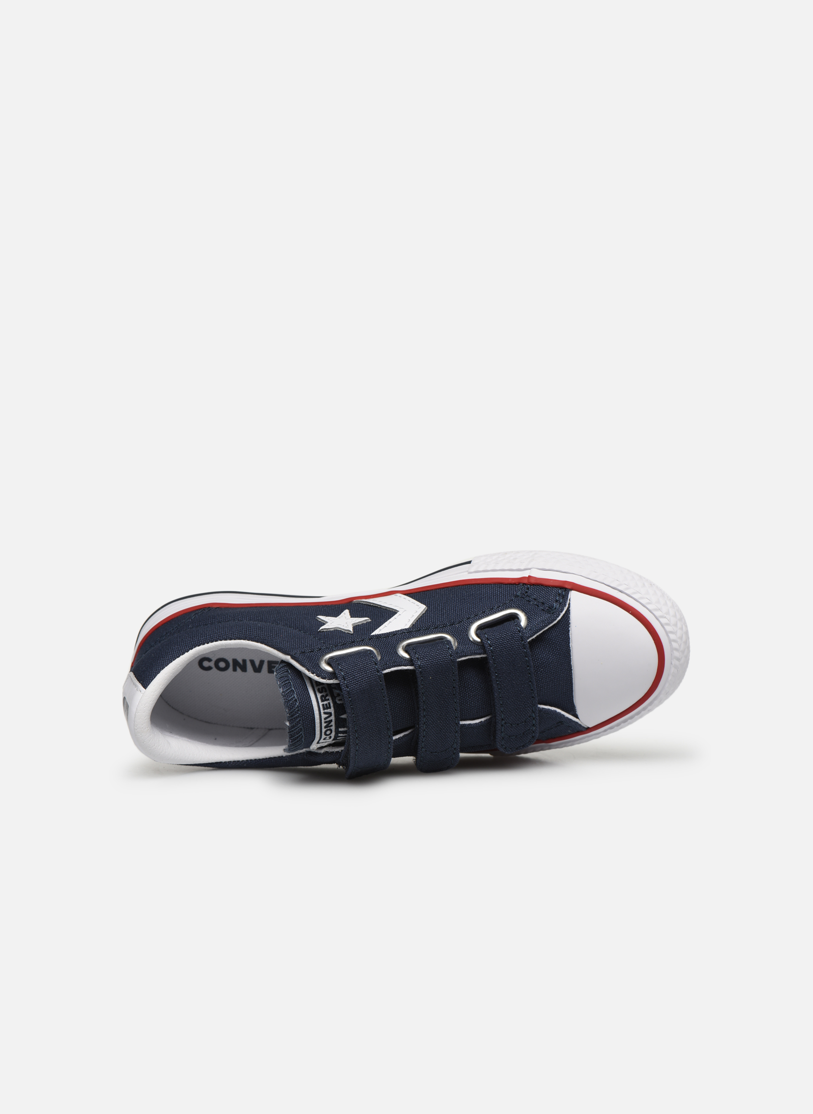 Baskets Converse Star Player 3V Ox Bleu vue gauche