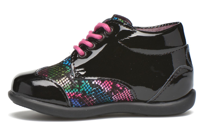 Zapatos con cordones Mod8 Lou Negro vista de frente
