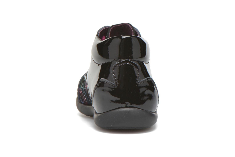 Zapatos con cordones Mod8 Lou Negro vista lateral derecha