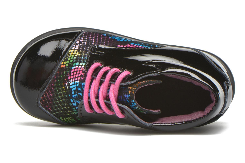Zapatos con cordones Mod8 Lou Negro vista lateral izquierda