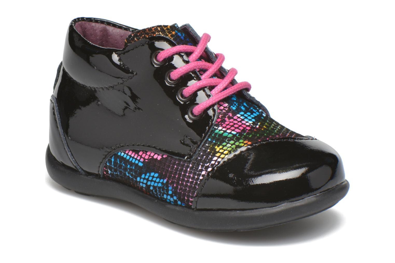 Zapatos con cordones Mod8 Lou Negro vista de detalle / par