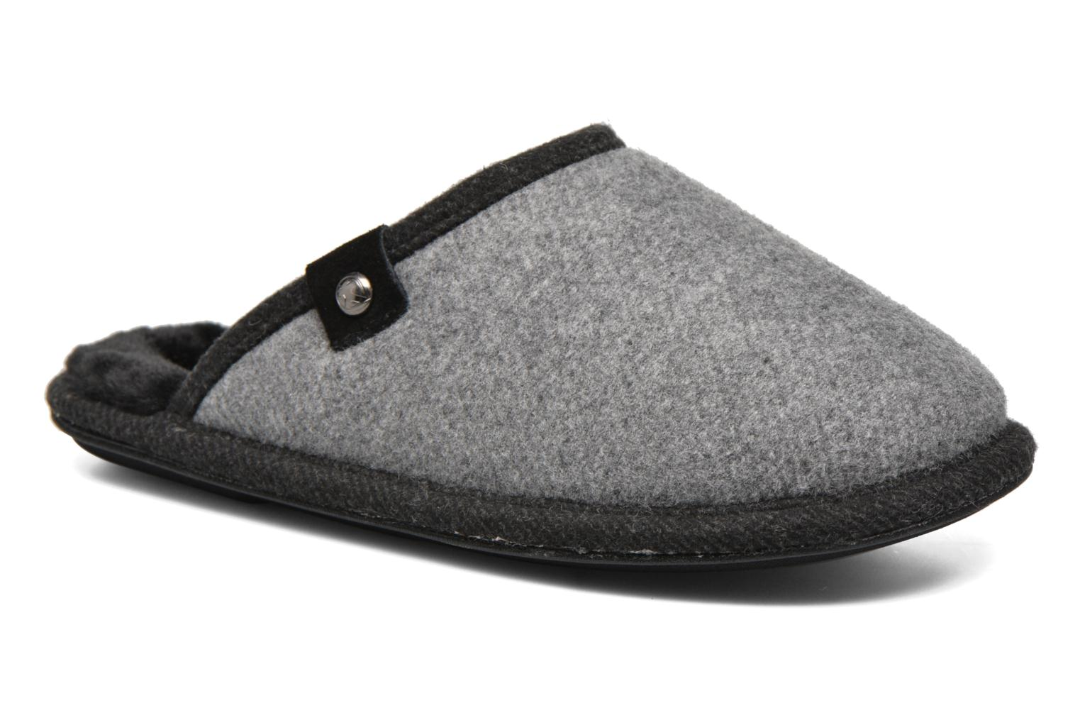 Slippers BEDROOM ATHLETICS Spacey Grey detailed view/ Pair view