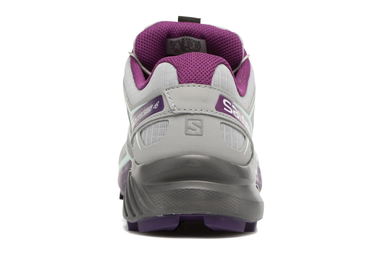 Chaussures de sport Salomon Speedcross 4 W Gris vue droite