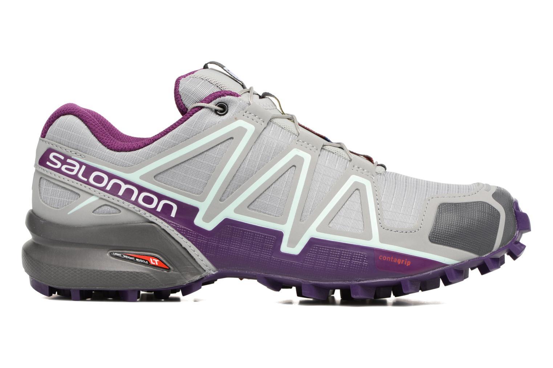 Chaussures de sport Salomon Speedcross 4 W Gris vue derrière