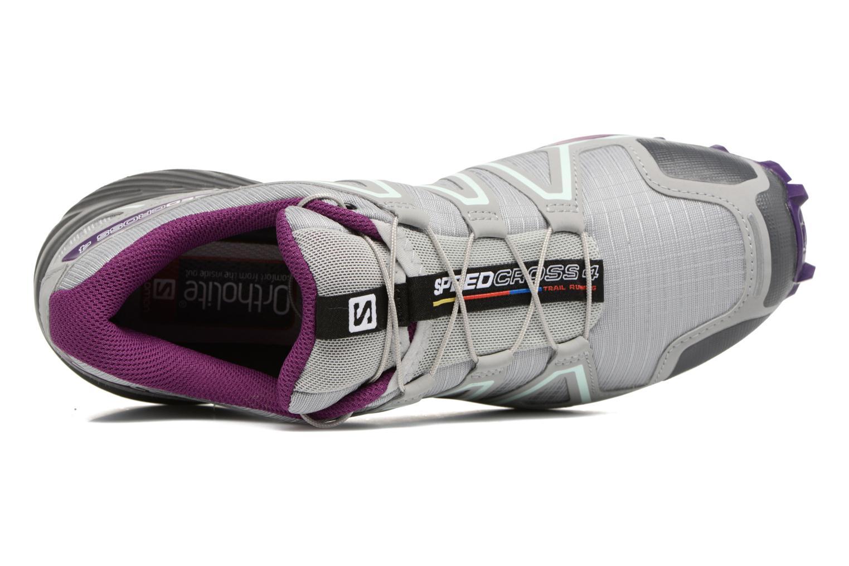 Speedcross 4 W Quarry/Acai/Fair Aqua