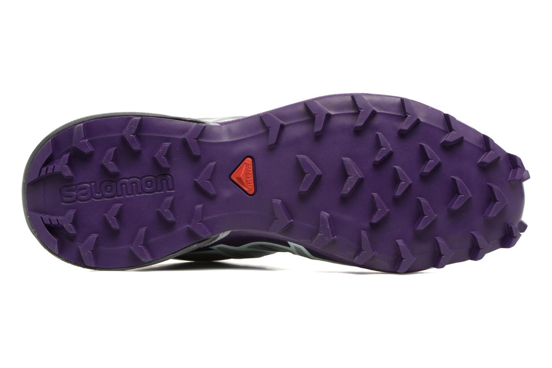 Chaussures de sport Salomon Speedcross 4 W Gris vue haut