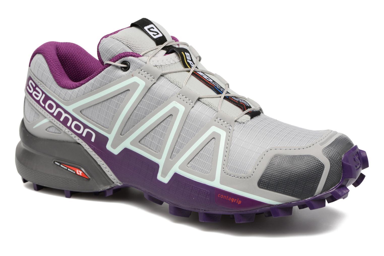 Zapatos promocionales Salomon Speedcross 4 W (Gris) - Zapatillas de deporte   Los zapatos más populares para hombres y mujeres