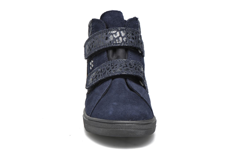 Chaussures à scratch Richter Carl Bleu vue portées chaussures