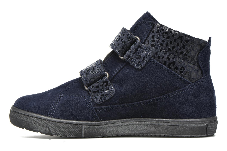 Zapatos con velcro Richter Carl Azul vista de frente
