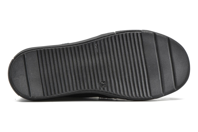 Chaussures à scratch Richter Carl Bleu vue haut