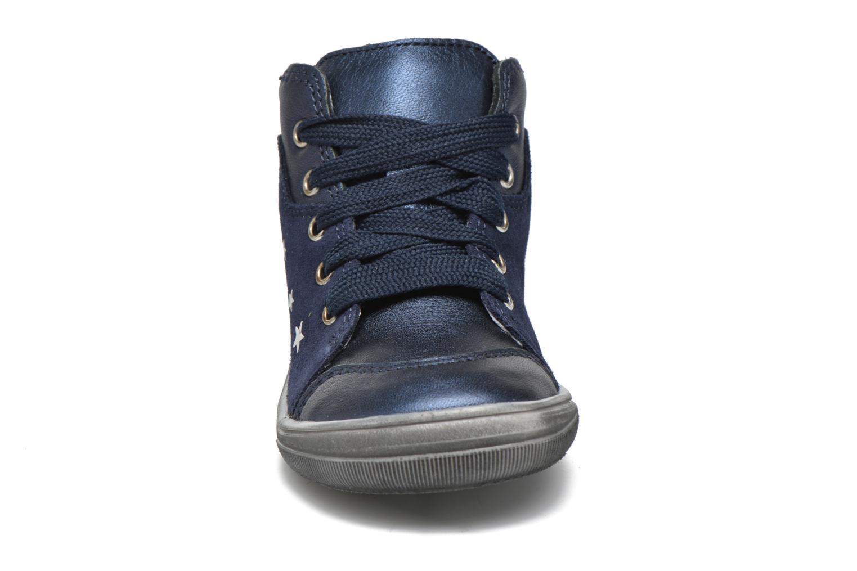 Chaussures à lacets Richter Bettina Bleu vue portées chaussures