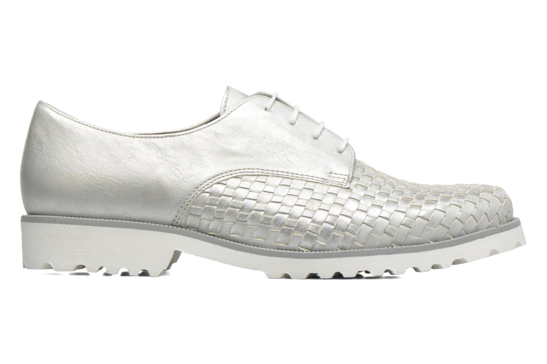 Zapatos con cordones Gabor Mariam Plateado vistra trasera