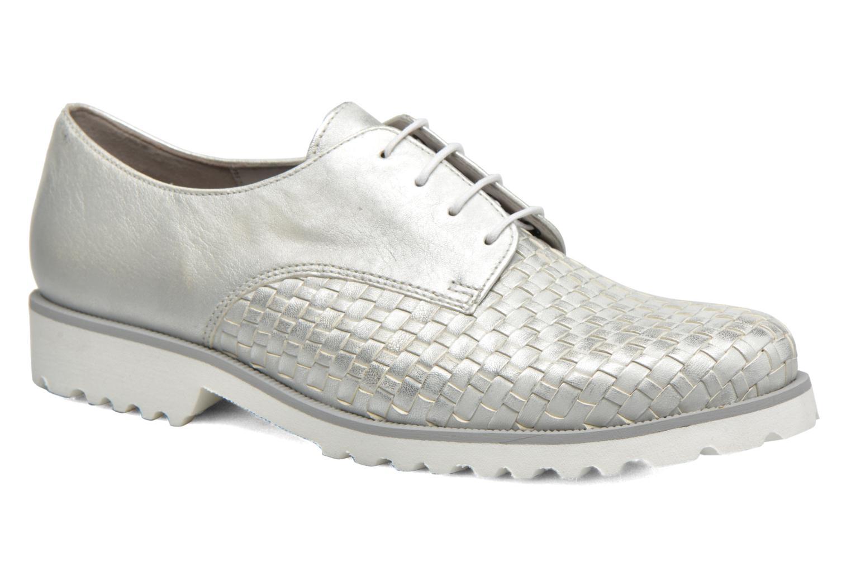 Grandes descuentos últimos con zapatos Gabor Mariam (Plateado) - Zapatos con últimos cordones Descuento c35892
