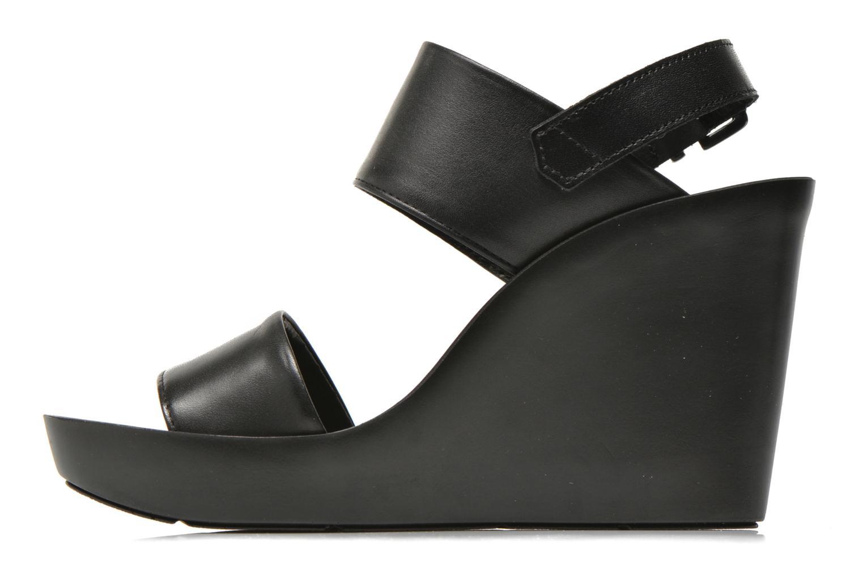 Sandales et nu-pieds Bronx Anner Noir vue face