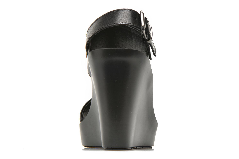 Sandales et nu-pieds Bronx Anner Noir vue droite
