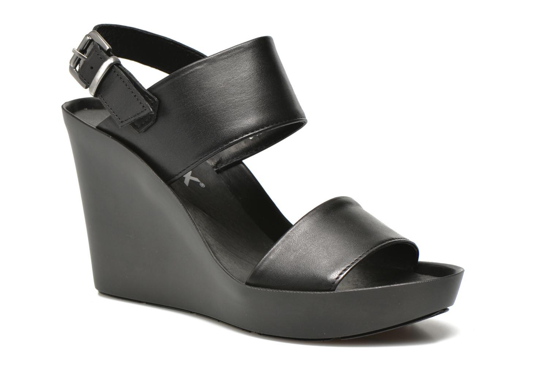 Sandales et nu-pieds Bronx Anner Noir vue détail/paire