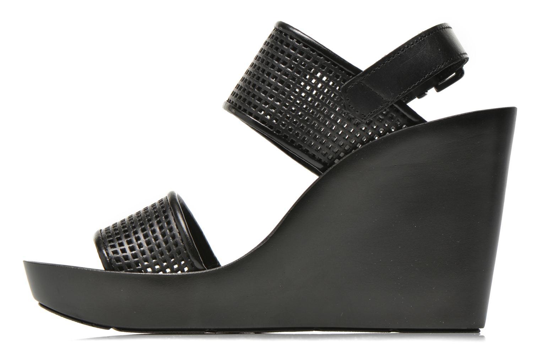 Sandales et nu-pieds Bronx Anner A Noir vue face