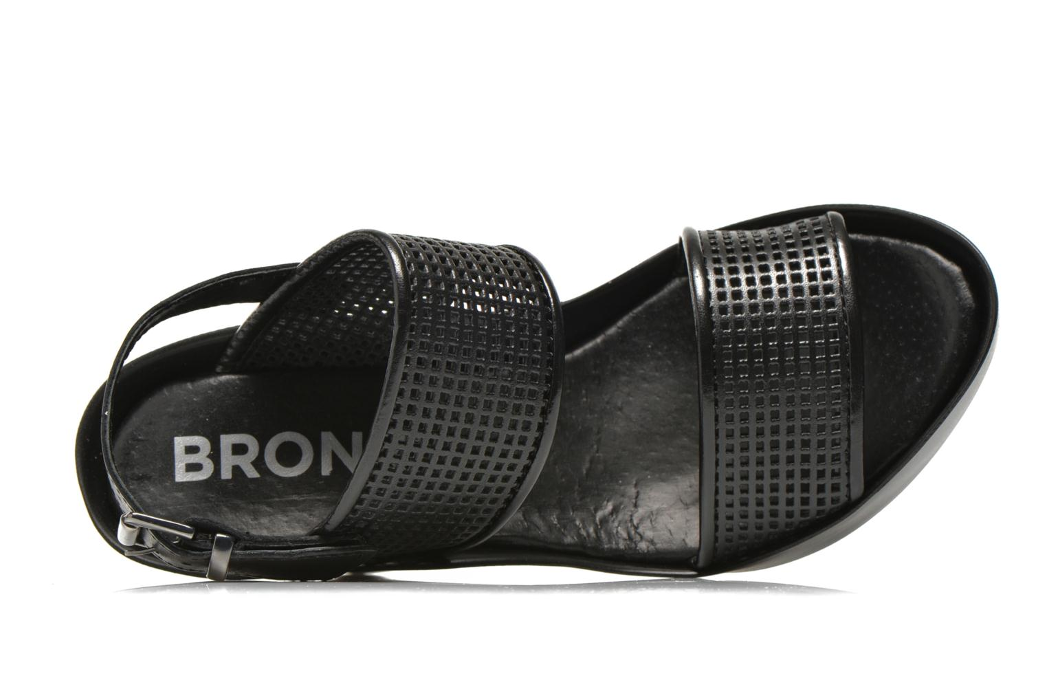 Sandals Bronx Anner A Black view from the left