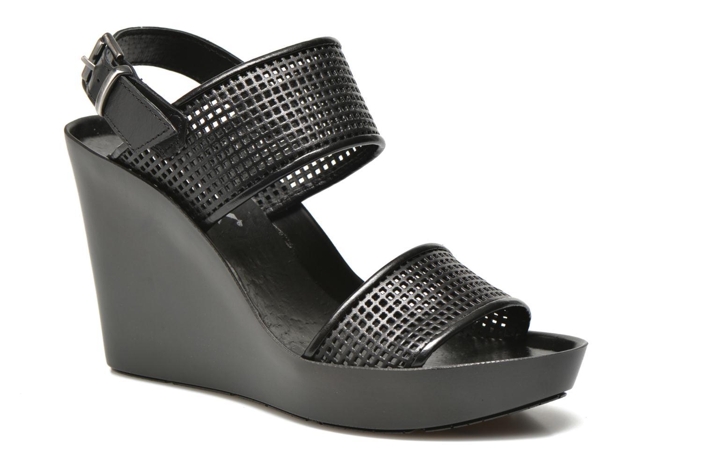 Sandales et nu-pieds Bronx Anner A Noir vue détail/paire