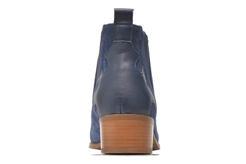 Bottines et boots Bronx Vik Bleu vue droite