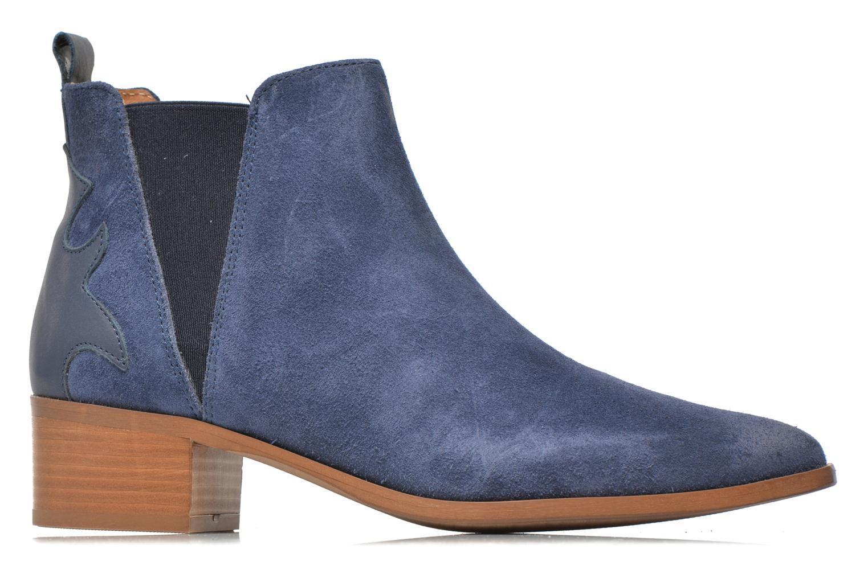 Bottines et boots Bronx Vik Bleu vue derrière