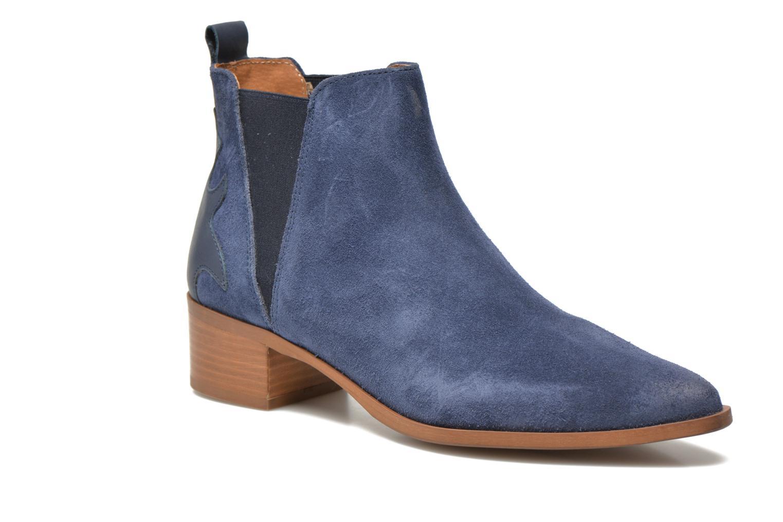 Bottines et boots Bronx Vik Bleu vue détail/paire
