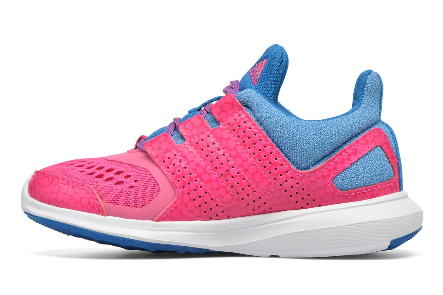 Baskets Adidas Performance Hyperfast 2.0 k Rose vue face