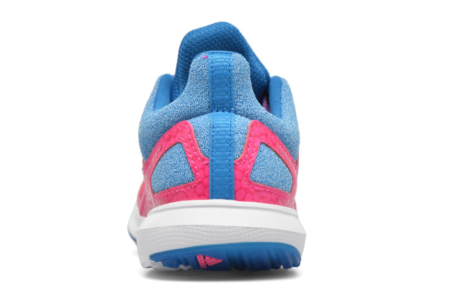 Baskets Adidas Performance Hyperfast 2.0 k Rose vue droite