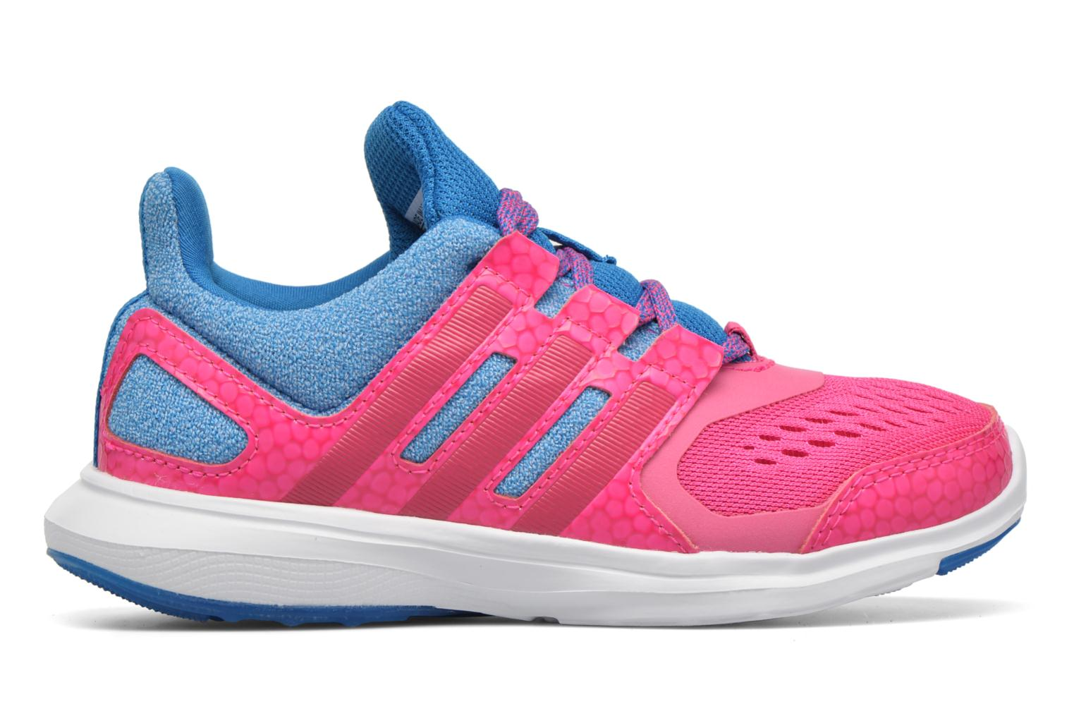 Baskets Adidas Performance Hyperfast 2.0 k Rose vue derrière