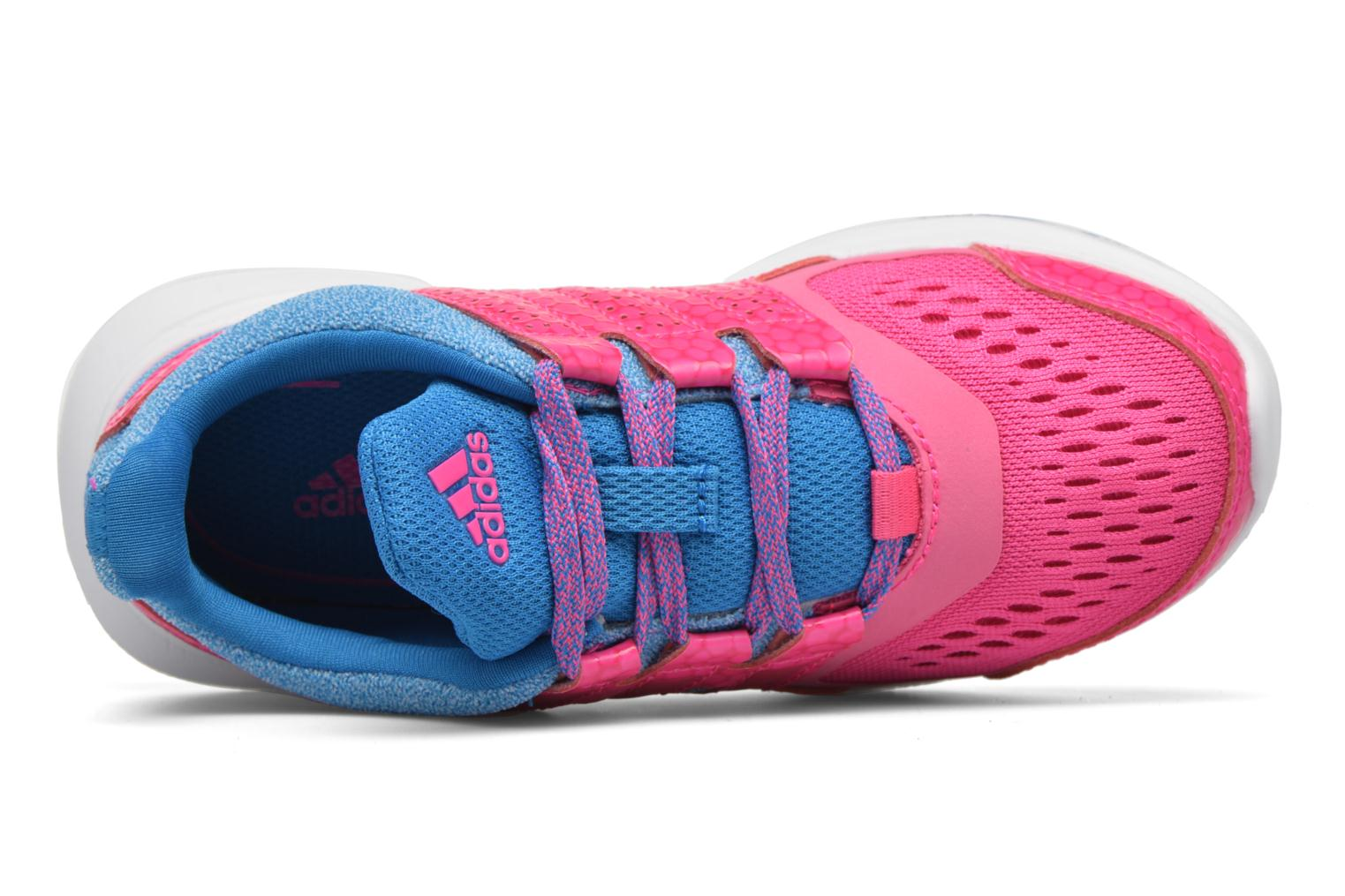 Baskets Adidas Performance Hyperfast 2.0 k Rose vue gauche