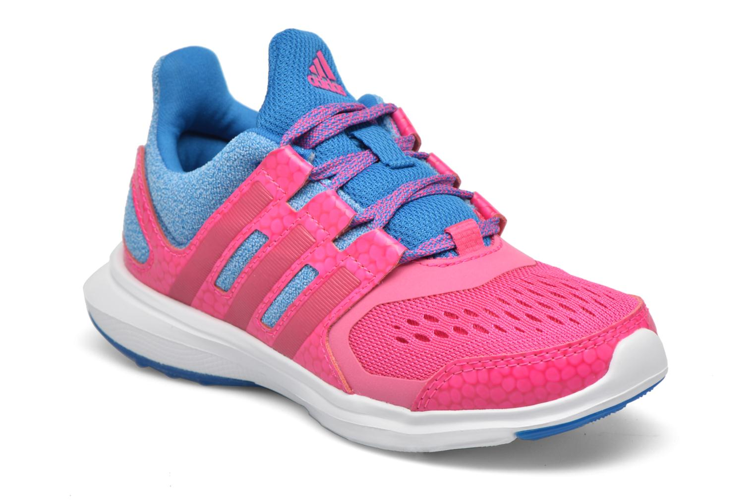 Baskets Adidas Performance Hyperfast 2.0 k Rose vue détail/paire