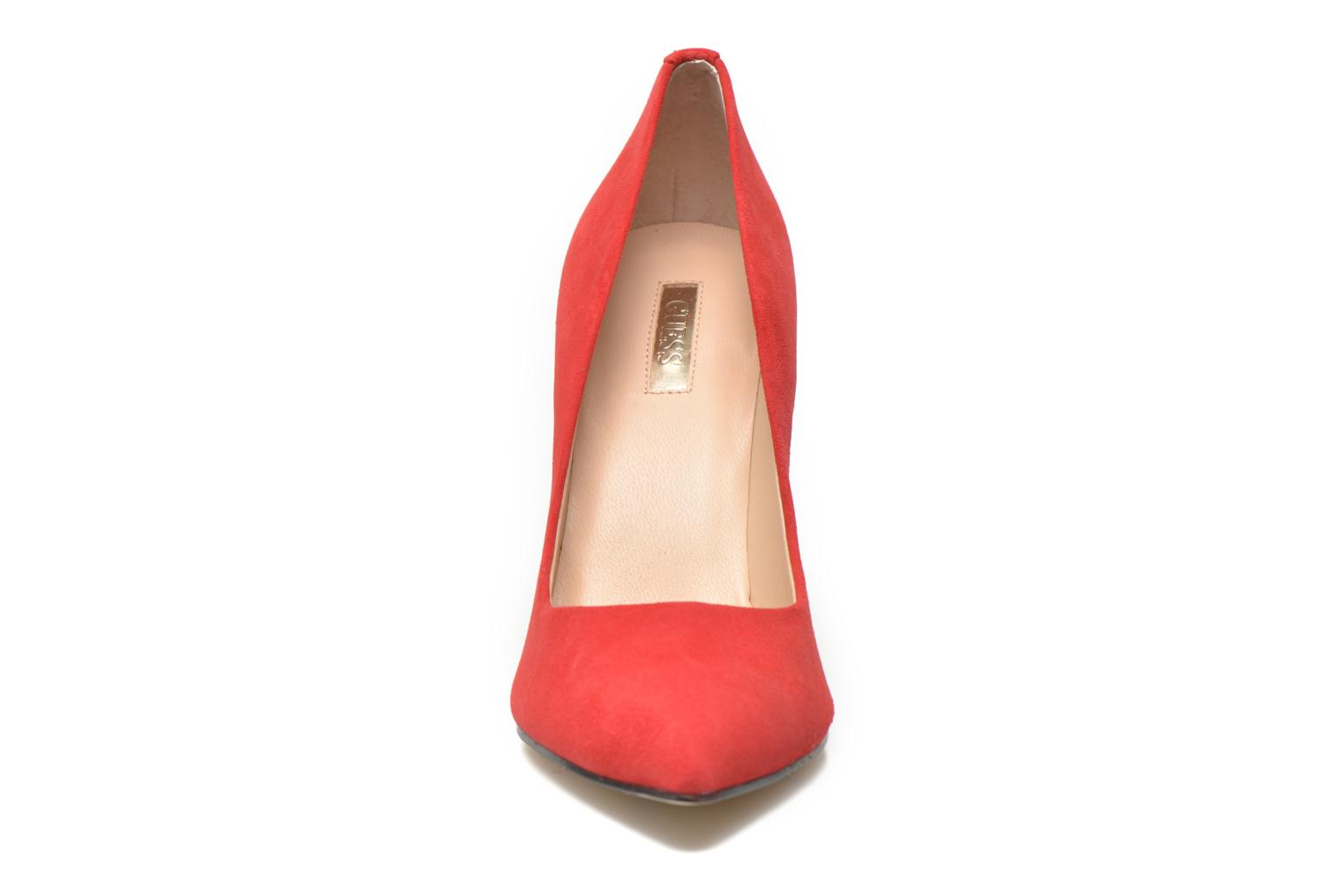 Panny Suede Medium Red