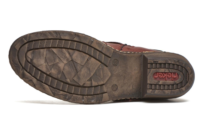 Grandes descuentos últimos zapatos Rieker Annie K1480 (Vino) - Botines  Descuento